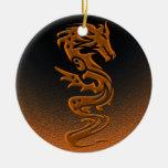Dragon bronze ornament