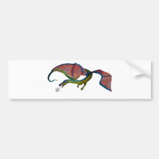Dragon Bumper Sticker