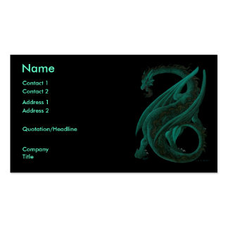 Dragon Double-Sided Standard Business Cards (Pack Of 100)
