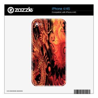 Dragón Calcomanía Para El iPhone 4S