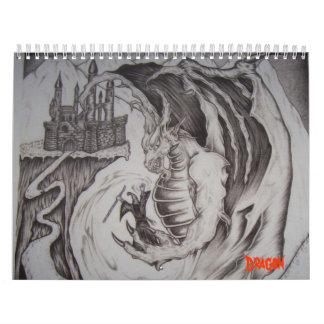 Dragon Wall Calendars