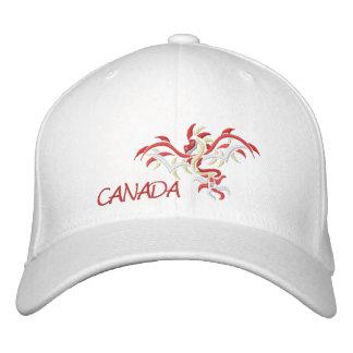 dragón Canadá del sol, Gorras Bordadas