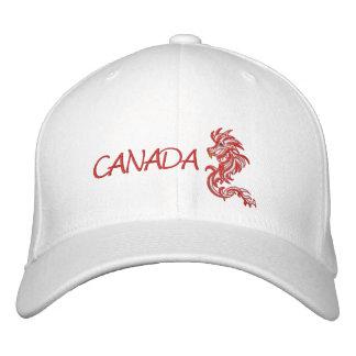 Dragón Canadá, Gorros Bordados