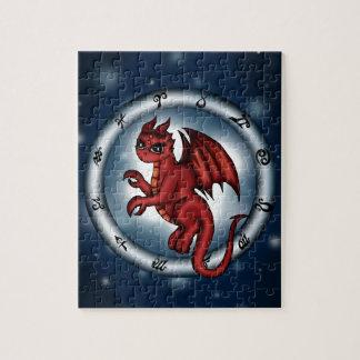 Dragon Cancer Zodiac Jigsaw Puzzles