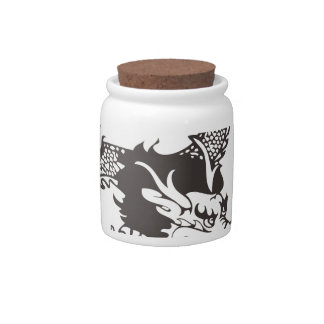 Dragon Candy Jar