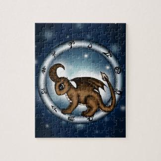 Dragon Capricorn Zodiac Puzzle