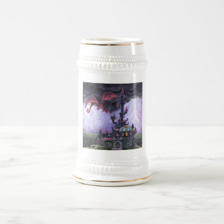 Dragon Castle Beer Stein