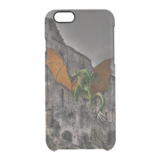 Dragon & Castle Fantasy Artwork Uncommon Clearly™ Deflector iPhone 6 Case