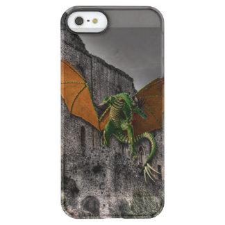 Dragon & Castle Fantasy Artwork Uncommon Permafrost® Deflector iPhone 5 Case