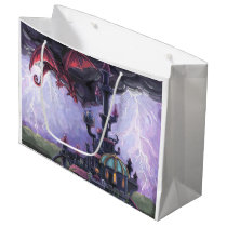 Dragon Castle Large Gift Bag