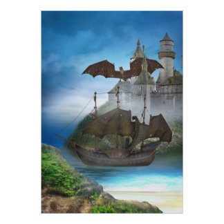 Dragon Castle Poster