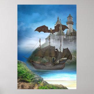 Dragon Castle Poster