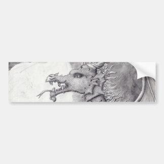 Dragon Cave Bumper Sticker