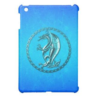 Dragón céltico azul iPad mini carcasa