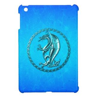 Dragón céltico azul iPad mini cárcasa