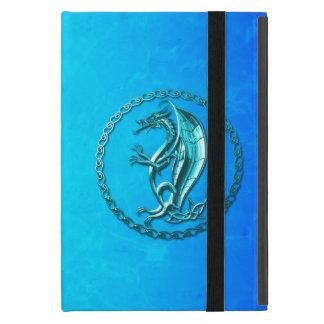 Dragón céltico azul iPad mini fundas