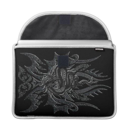 Dragón céltico manga del carrito de 13 pulgadas funda macbook pro