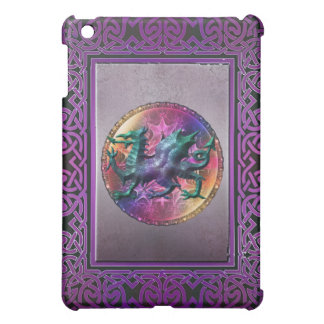 Dragón céltico místico del arco iris