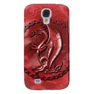 Dragón céltico rojo