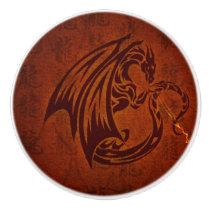 Dragon Ceramic Knob