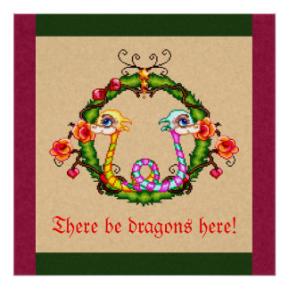 Dragon Charm Poster