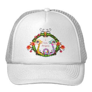Dragon Charm Trucker Hat