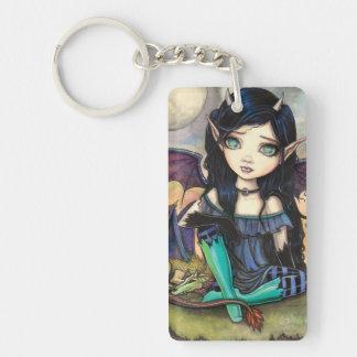 Dragon Child Cuge Big-Eye Fairy and Dragon Keychain