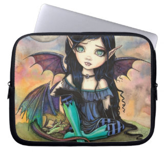 Dragon Child Cuge Big-Eye Fairy and Dragon Laptop Computer Sleeves