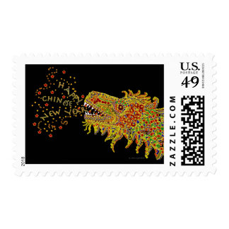 Dragon Chinese New Year Postage Stamps