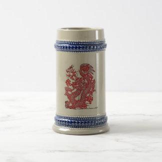 Dragon-Chinese Zodiac/ Beer Stein
