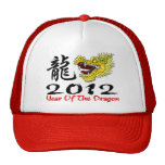 Dragón chino 2012 del Año Nuevo Gorras