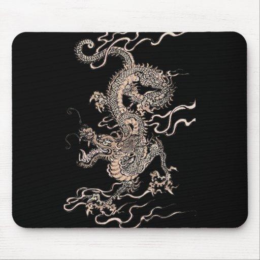 Dragón chino alfombrillas de ratones