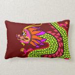 Dragón chino almohadas