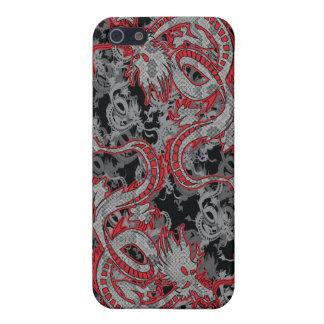 Dragón chino - año del dragón iPhone 5 carcasa