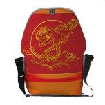Dragón chino bolsa de mensajeria