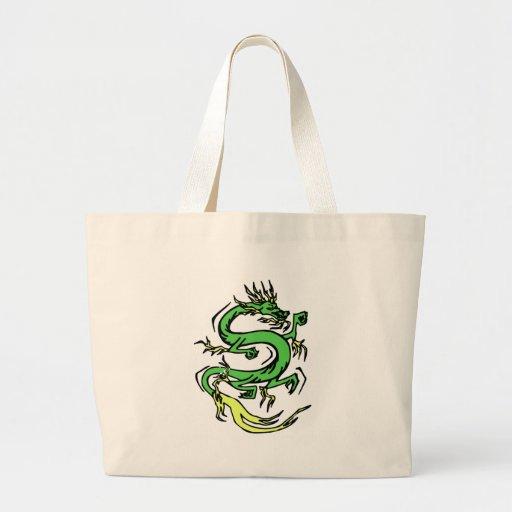 Dragón chino bolsas de mano