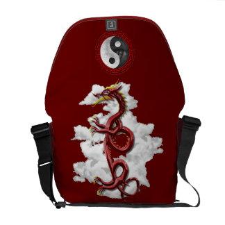Dragón chino bolsas de mensajería
