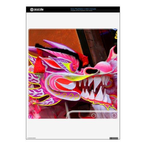 Dragón chino calcomanías para PS3 slim