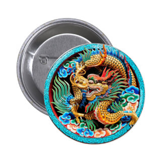 DRAGÓN CHINO COLORIDO PIN