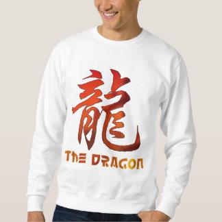 Dragón chino de la muestra del zodiaco suéter