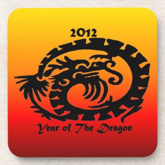 Dragón chino del Año Nuevo 2012 Posavasos