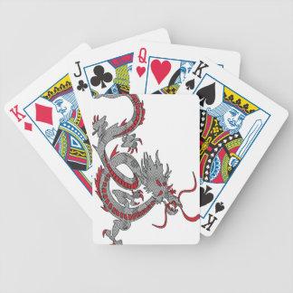 Dragón chino del Año Nuevo Baraja