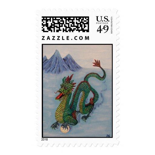Dragón chino del destino
