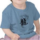 Dragón chino del zodiaco camisetas