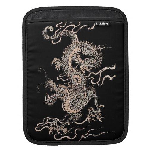 Dragón chino fundas para iPads