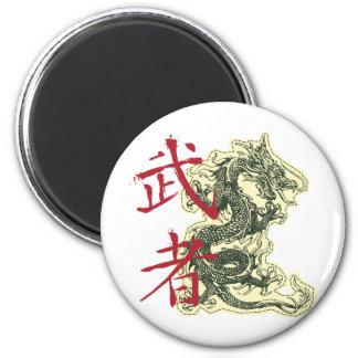Dragón chino imán de frigorífico