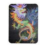 Dragón chino imán