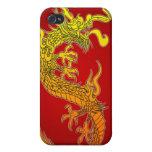 dragón chino iPhone 4/4S fundas