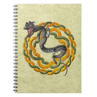 Dragón chino libro de apuntes