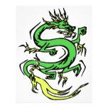 Dragón chino membrete personalizado